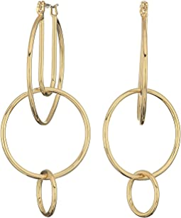 Rebecca Minkoff - Celestial Hoop Earrings