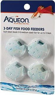 Aqueon Food Fish Feeder, 3-Day, 4-Pack