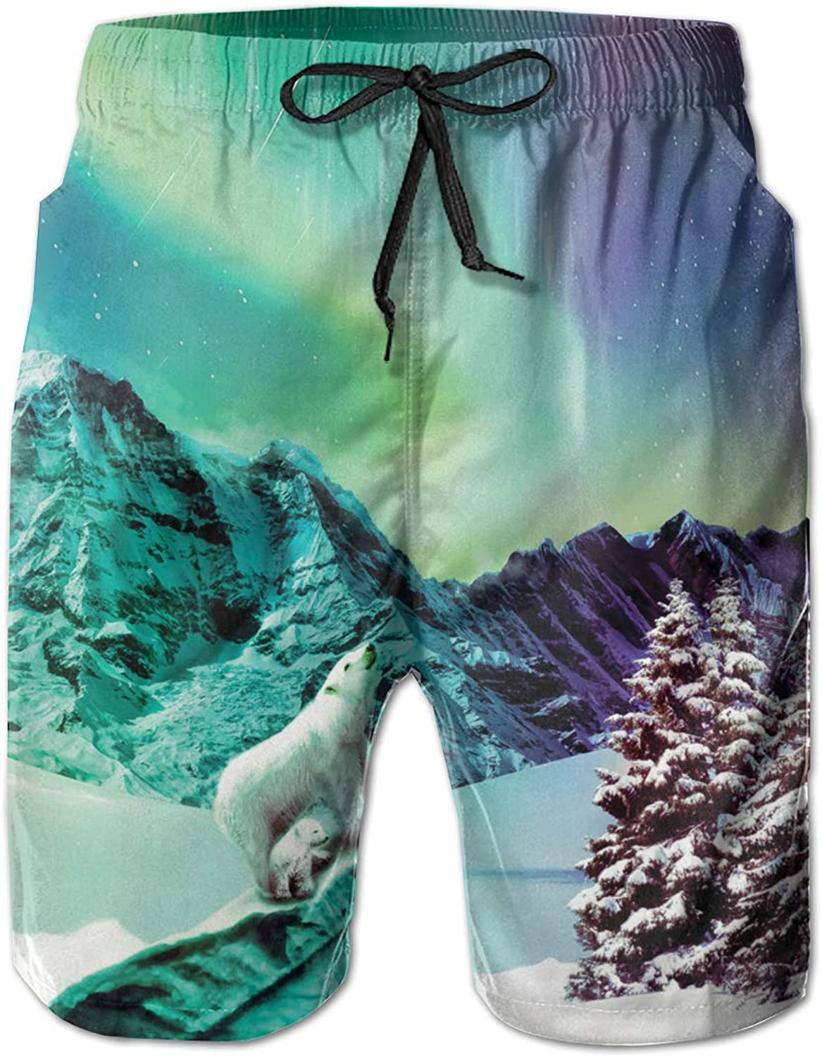 JAWANNAN Unicorn Beach Shorts, Running, Exercise, Shorts,moisture Absorption And Perspiration, Ultralight Dry And Breathable