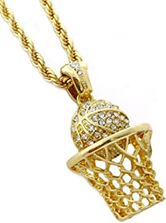 Best basketball hoop chain necklace Reviews