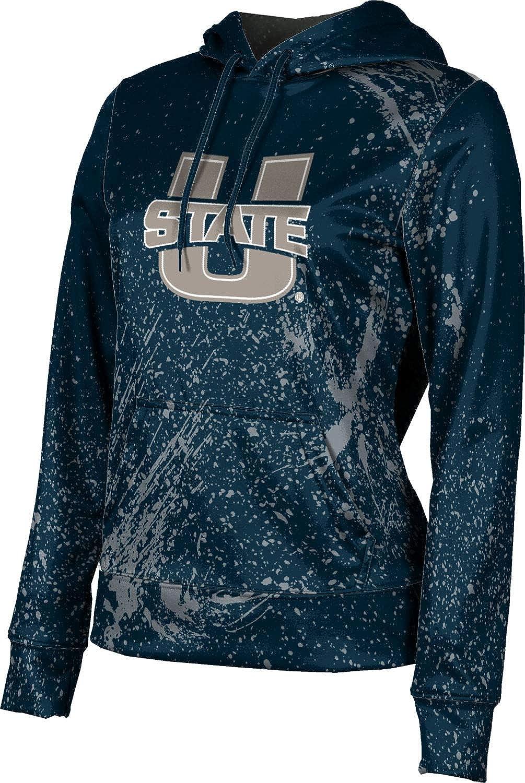 ProSphere Utah State University Girls' Pullover Hoodie, School Spirit Sweatshirt (Splatter)