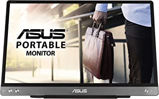 ASUS ZenScreen MB14AC Portable USB Monitor- 14 inch, IPS Full HD, Hybrid Signal Solution, USB Type-C, Flicker Free, Blue L...