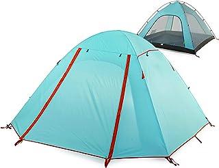 comprar comparacion TRIWONDER Tienda de Campaña para 2-3-4 Personas con Doble Capa Carpa Familiar para Playa Acampar al Aire Libre