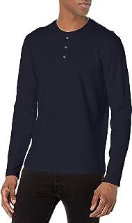 Men's Double Knit Henley