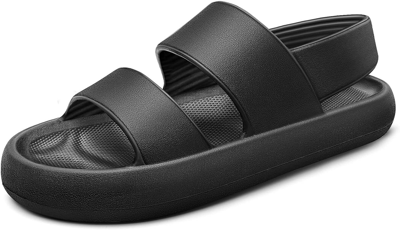 Womens Sandals,KEMISANT Athletic Sandals for women's Outdoor,2 Straps Ergonomic Design
