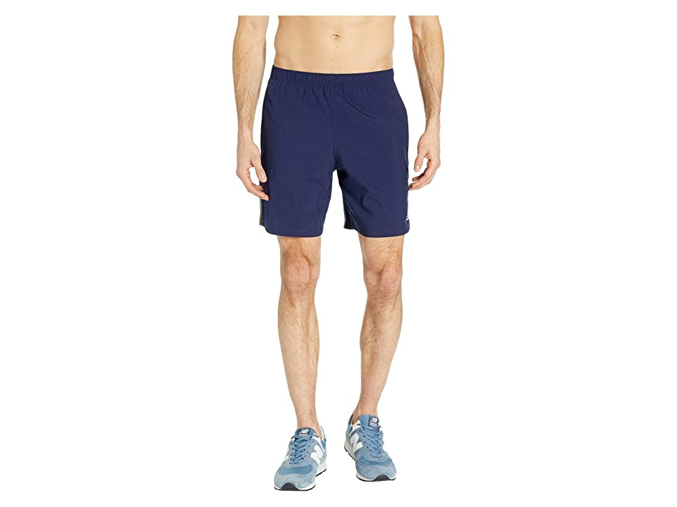 New Balance Accelerate 7 Shorts (Mineral Green/Pigment) Men
