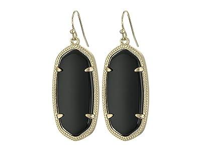 Kendra Scott Elle Earring (Black Onyx) Earring