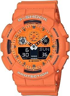 Casio Mens Quartz Watch, Analog-Digital Display and Plastic Strap