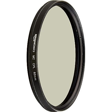 Amazon Basics Circular Polarizer Camera Lens Filter - 82 mm