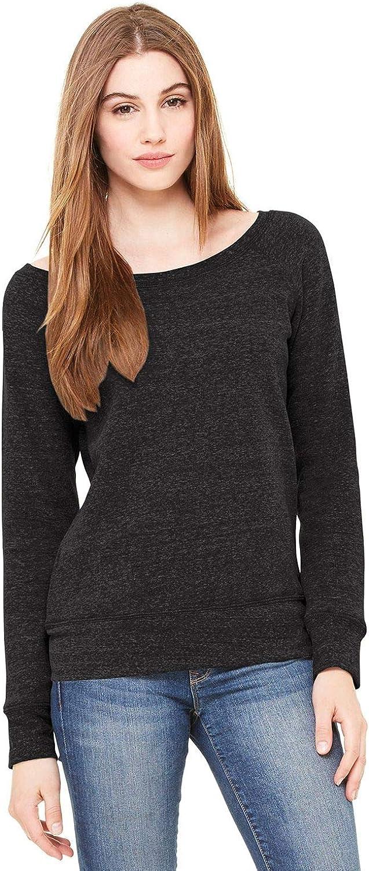 Bella Canvas Sponge Fleece Wide Neck Sweatshirt (7501)