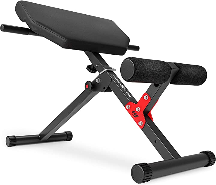 Allenatore per addominali estensione della schiena iperestensione marbo sport mh-l116 sedia romana 114774-TR