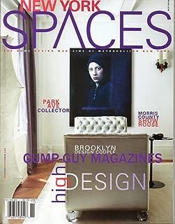 New York Spaces October 2010 THE HOME DESIGN MAGAZINE OF METROPOLITAN NEW YORK High Design Brooklyn Design Couple PARK AVE COLLECTOR