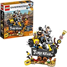 LEGO Overwatch Junkrat & Roadhog 75977 Building Kit, Overwatch Toy for Girls and Boys Aged 9+, New 2019 (380 Pieces)