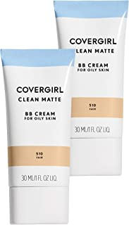 Covergirl Clean Matte Bb Cream Fair 510 for Oily Skin, 2 Count