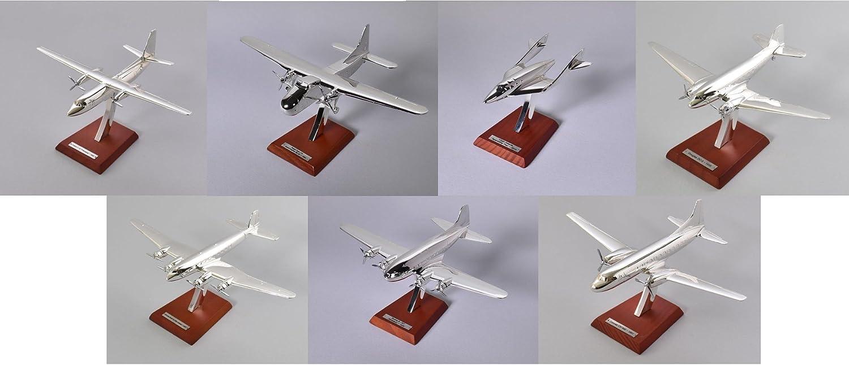 Lot de 7 avions 1 200   BOEING-DOUGLAS-FOKKER-FOCKE Collection Atlas en argento plaqué -réf  L7M