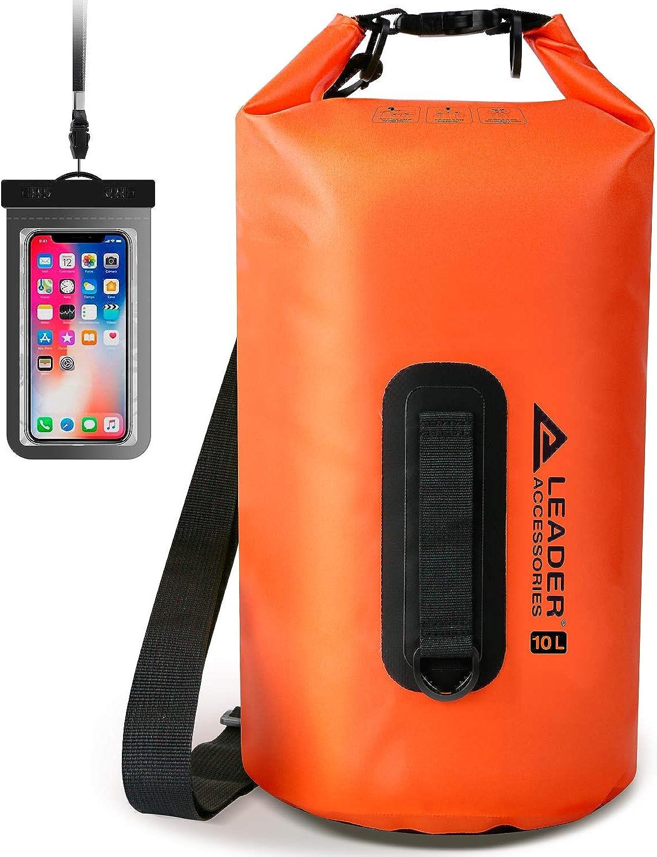 Leader Accessories Heavy Duty Vinyl for Boati Dry Bag Trust 55% OFF Waterproof