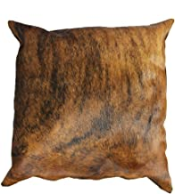 rodeo Double Sided Cowhide Pillow Cover (16x16)