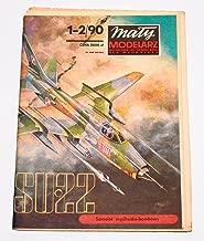 SUKHOI SU-22 - Paper Card Model in Scale 1/33 - Maly Modelarz