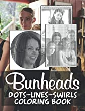 Bunheads Dots Lines Swirls Coloring Book: An Adult Activity Diagonal Line, Swirls Book Bunheads True Gifts For Family