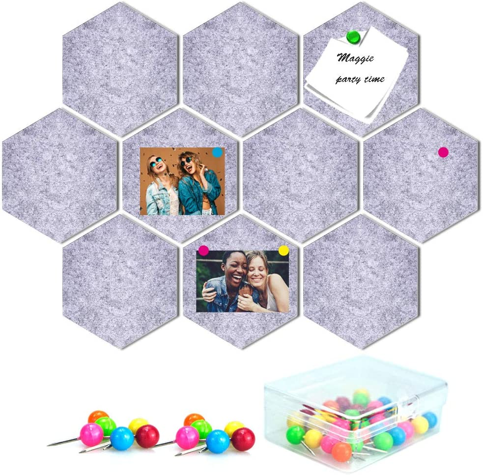 10 Packs Bulletin Board Felt Today's only Max 79% OFF Memo 30 Tiles with Pieces Pu