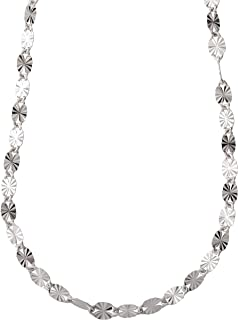 Best gold necklace 925 italy Reviews