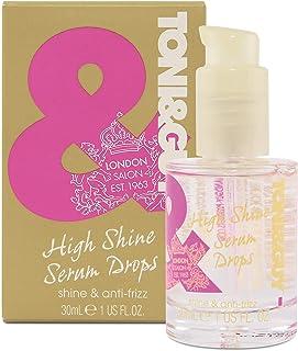 Toni & Guy High Shine Serum Drops - 30 ml