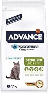 comprar comparacion Advance Pienso para Gato Junior Esterilizado con Pollo - 1,5kg