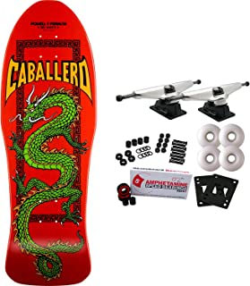 Powell-Peralta Skateboard Complete Caballero Cab Chinese Dragon Red RE-Issue