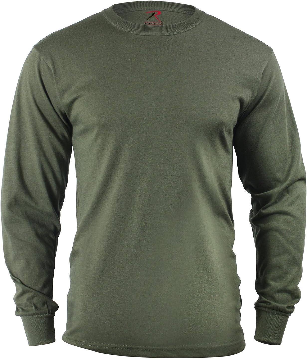 Dedication Max 82% OFF Rothco Long Sleeve Solid T-Shirt