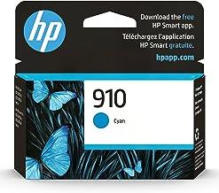 Original HP 910 Cyan Ink Cartridge | Works with HP OfficeJet 8010, 8020 Series, HP OfficeJet Pro 8020, 8030 Series | Eligi...