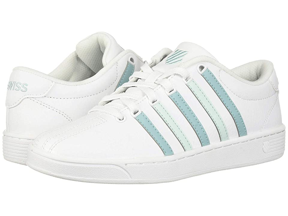K-Swiss Court Pro II CMF (White/Aqua Haze/Soothing Sea) Women