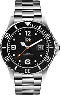 Ice-Watch - ICE steel Black silver - Reloj nero para Hombre
