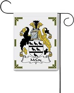 Carpe Diem Designs McCoy Coat of Arms/McCoy Family Crest 11 X 15 Garden Flag – Made in The U.S.A.