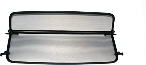 D/éflecteur de vent pliable avec fermeture rapide Filet Anti-Remous Coupe D/éflecteur dair noir pour Renault Megane 1 D/écapotable 1995-2003