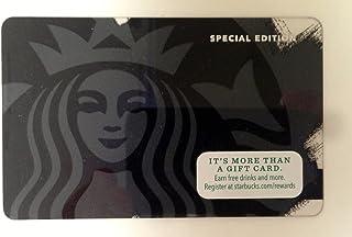 Starbucks Black Siren Limited Edition 2014 Gift Card