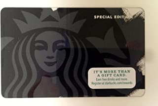 Starbucks Black Siren Limited Edition 2014 Gift Card