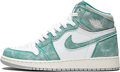 Nike Air Jordan 1 Retro High OG GS, Chaussures de Fitness Homme ...