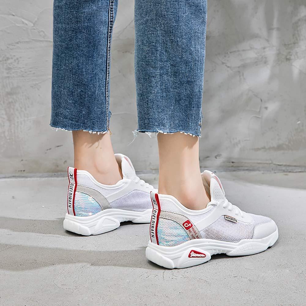 ZLYZS Zapatos Casuales De Mujer, De Moda Zapatillas De