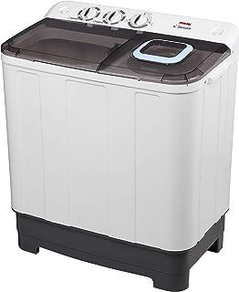 Nikai Twin Tub Washing Machine, 7 Kg, Top Load, White - NWM700SPN8K