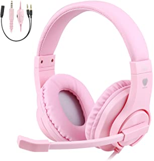 BlueFire 3.5mm PS4 Gaming Headset Bass Stereo Over-Ear Gaming Headphone with Microphone..