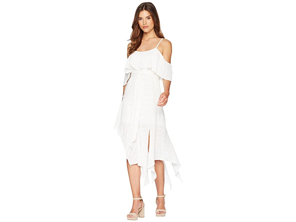 Bardot Elle Frill Dress (Ivory) Women