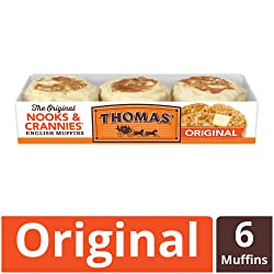 Thomas' Original English Muffins, 6 Count