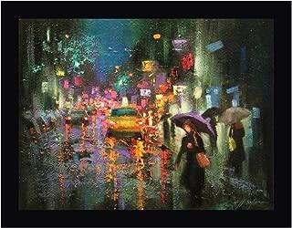 Night Rain in Village by Chin H. Shin 13