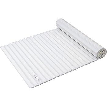 パール金属 風呂 ふた シャッター式 ホワイト L15 適正サイズ:75×150cm用 寸法:(約)75×152cm スタイルピュア HB-3791