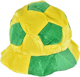 World Cup Soccer Hats Fans Party Football Shape Hat Soccer Match Cheering Cap, Multicolor Matching The National Flags