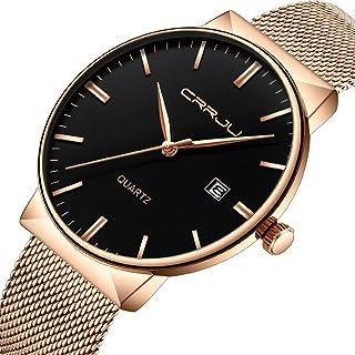 Relojes Hombre Amazon De Oro Negro Pulsera esRosa yO8v0PnwmN