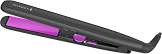 Remington S3570 Ionic Infusion Hair Straightener, Flat Iron, 1-Inch Ceramic Plates, Black/Pink