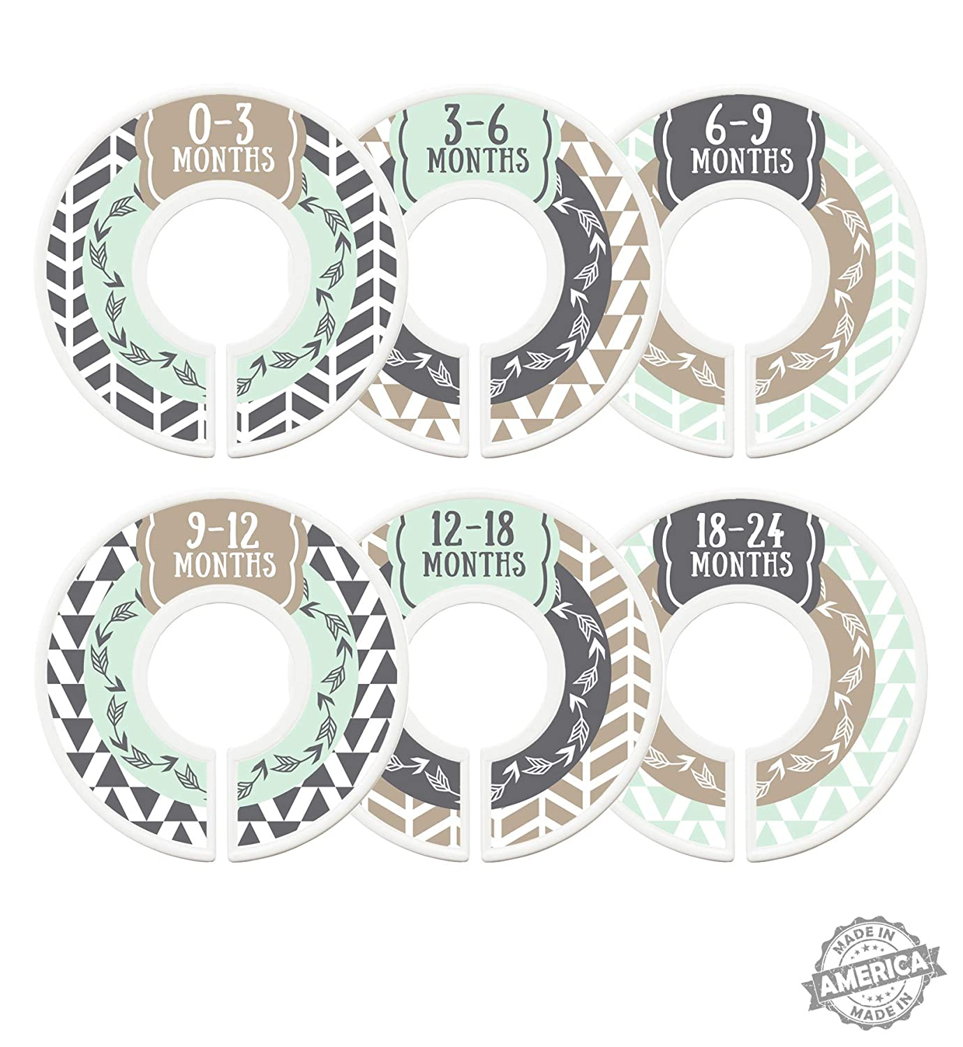 Modish Labels Baby Nursery N Max 45% OFF Dividers gift Closet Organizers