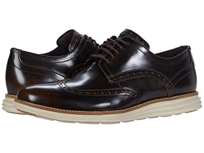 Cole Haan Original Grand Wingtip Oxford (Bracken Brush-Off Leather/Safari) Men