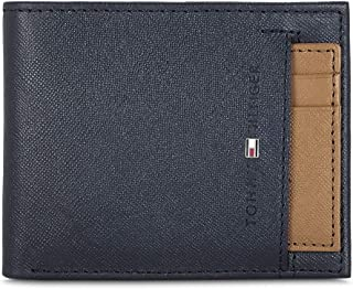 Tommy Hilfiger Navy/Tan Men's Wallet (TH/KARSONSLF0823)